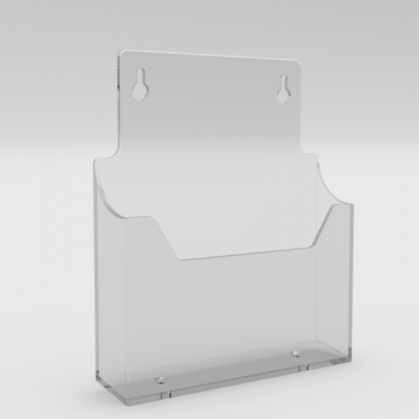 A5 Leaflet Holder. Wall Mounted