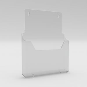 A4 Leaflet Holder / Brochure Dispenser - Wall Mounted