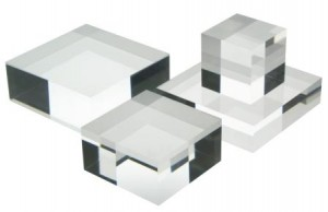 Acrylic display blocks