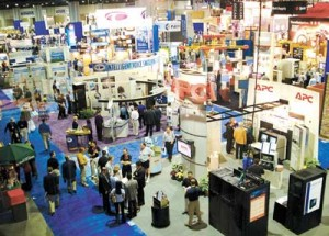 Photograph of trade show