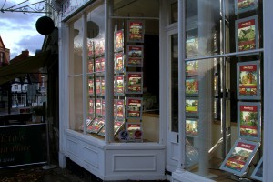 LEDMAG makes the most of the window space at Allan Morris Worcester