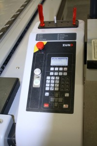 The powerful Zund control panel