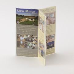 six facing acrylic menu holder