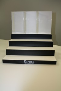 Espree Jewellery stand ready for use in their expanding network