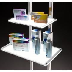 LEDMAG illuminated shelves