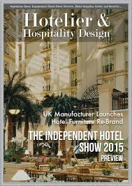 Hotelier and Hospitality Design