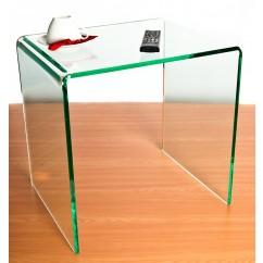 acrylic side table