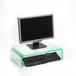 Prestige acrylic monitor stands