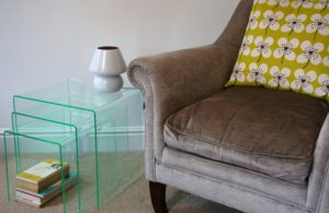 budget acrylic nesting tables glass effect