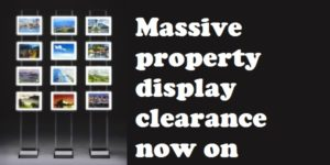LED display clearance