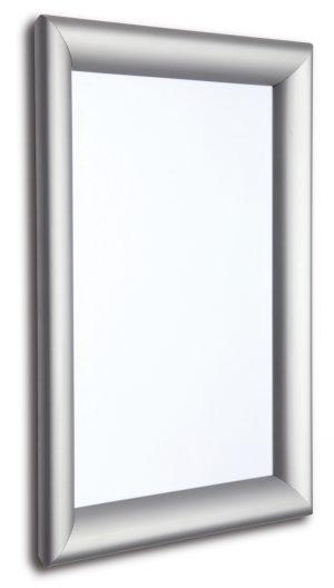 tamper resistant snap frame