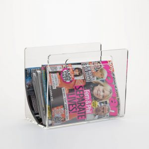 Value Clear Acrylic Magazine Rack