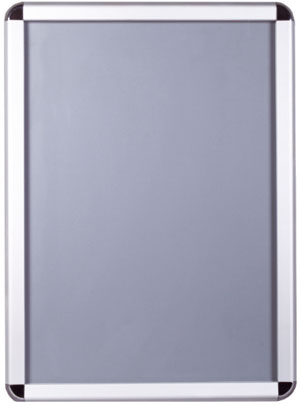 silver snap frames with rounded corners