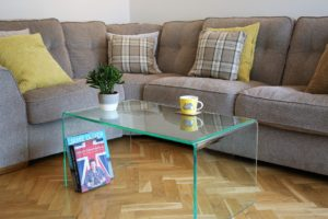 Perspex® coffee tables at Wrights GPX