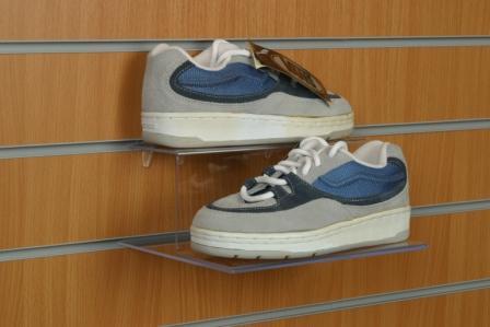 Slatwall Shoe Display