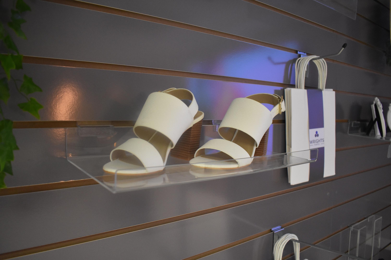Slatwall Shelves