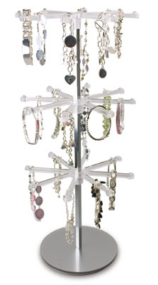 An image of Multi-Arm Jewellery Spinner with 2 arms