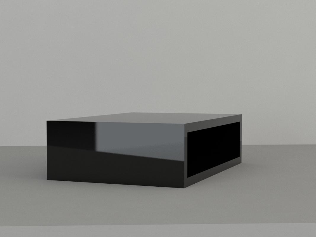 An image of Jewellery Display Plinth. Small. Black