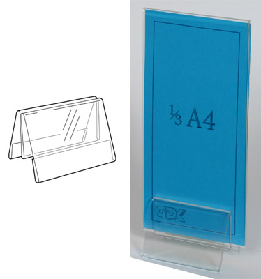 An image of Showcard Holder: A8 Land **DISCONTINUED**