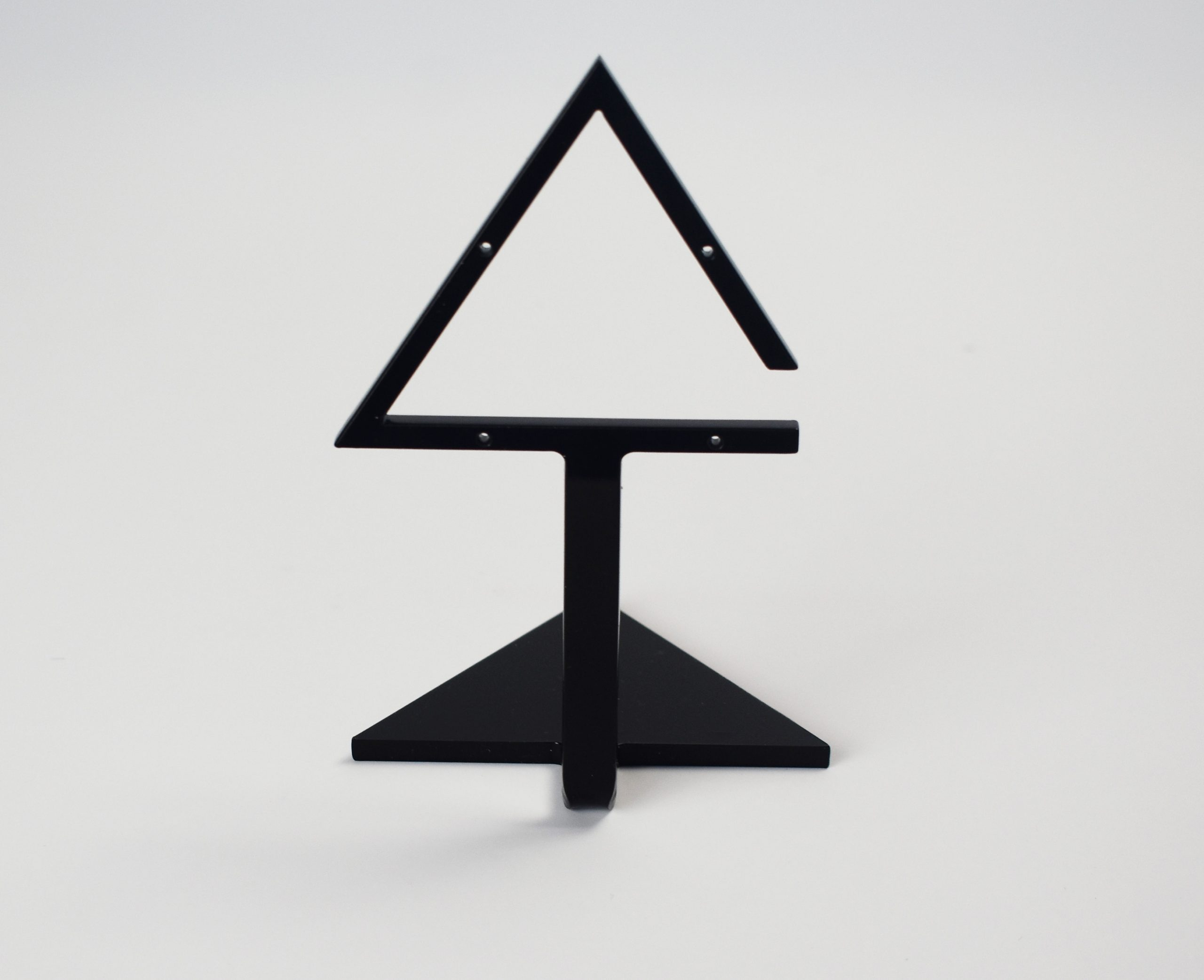An image of Triangle Earring Stand – Black