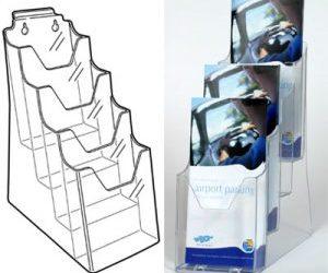 Space Saving Leaflet Storage | Optimal Advertising, Minimal Space