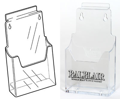 DL leaflet holders