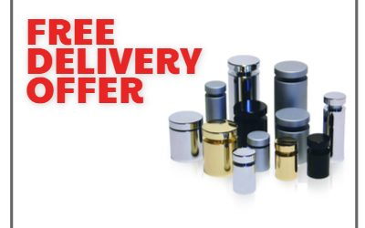 Free Delivery Offer On Standoff for Signs